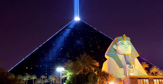Pyramid Las Vegas Strip