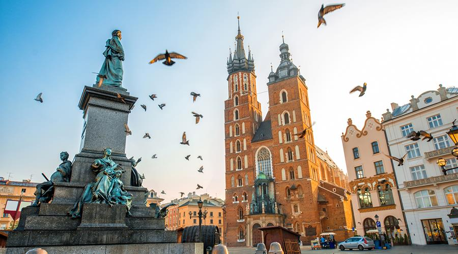 4* Krakow break with Breakfast
