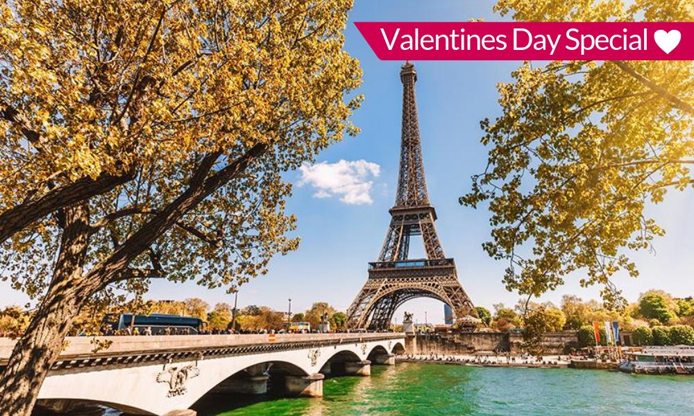 4* Paris Valentines Day Escape