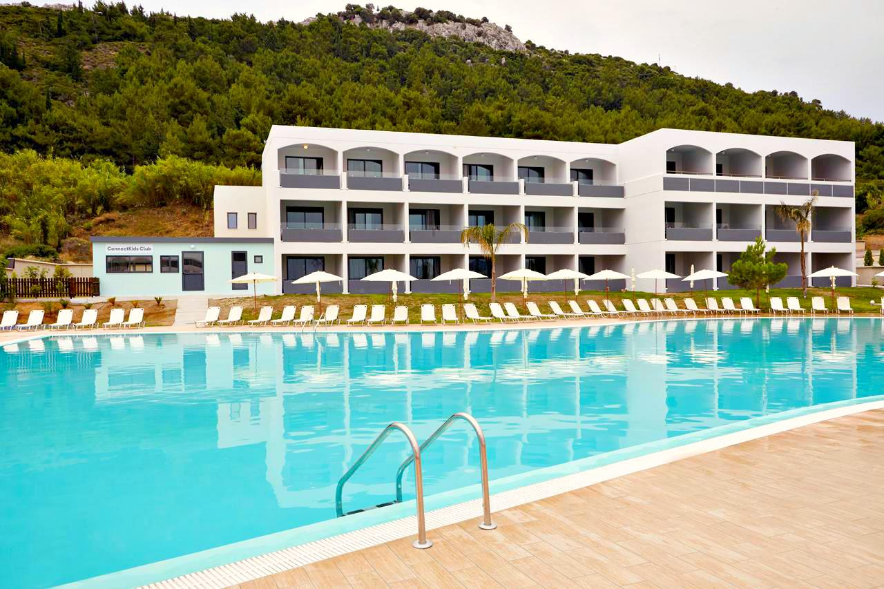 4* Deluxe Rhodes All Inclusive with Swim-up pool Room