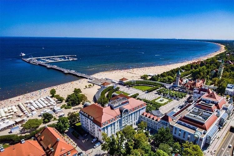 5-star Polish Riviera break