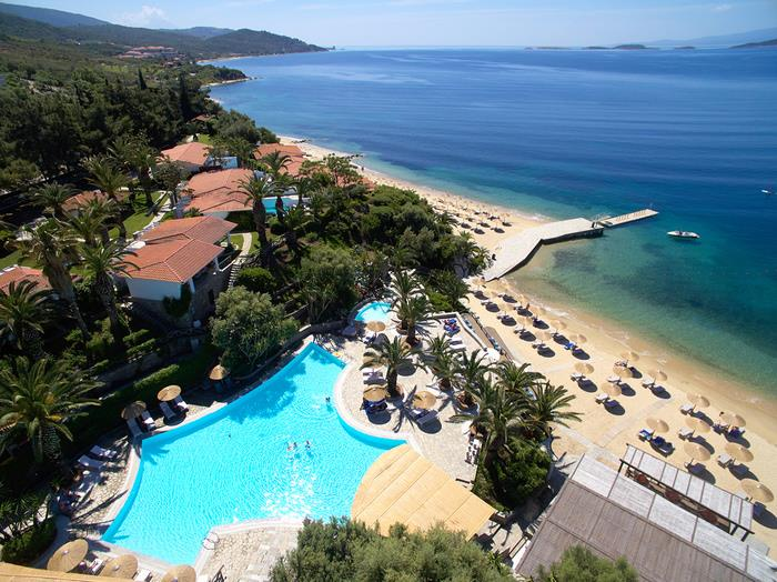 5* Ultra Luxury Halkidiki - from £299pp inclu flights, meals, superior sea view plus return transfers