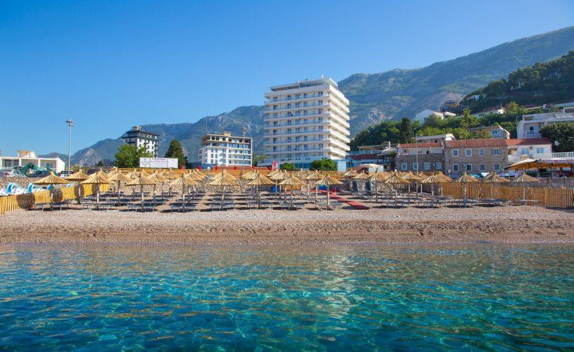 Chic 7 night holiday on the beachfront in Montenegro from £269