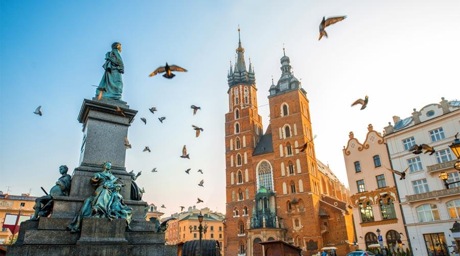 City break in Krakow