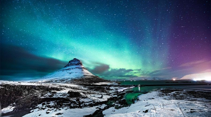 Iceland break with northern lights tour