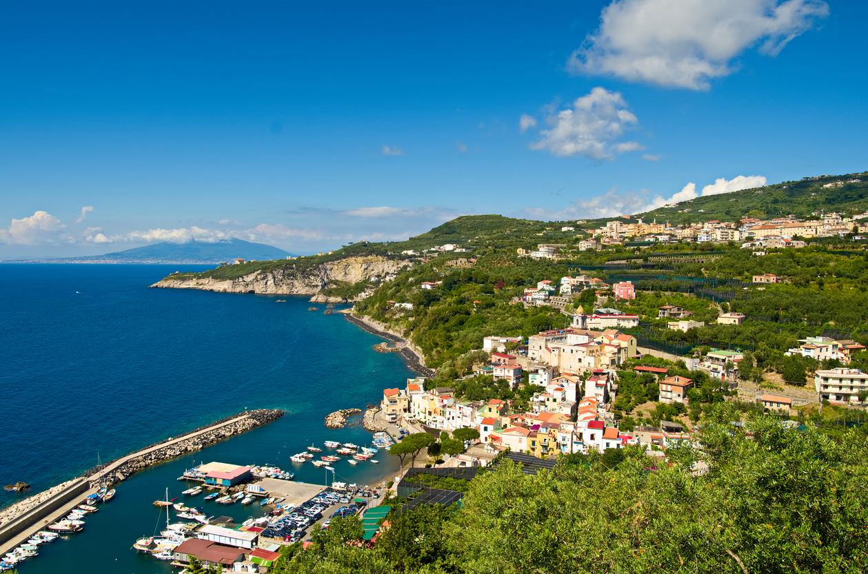Italian escape in this picturesque harbour on the Sorrento coast from £229pp
