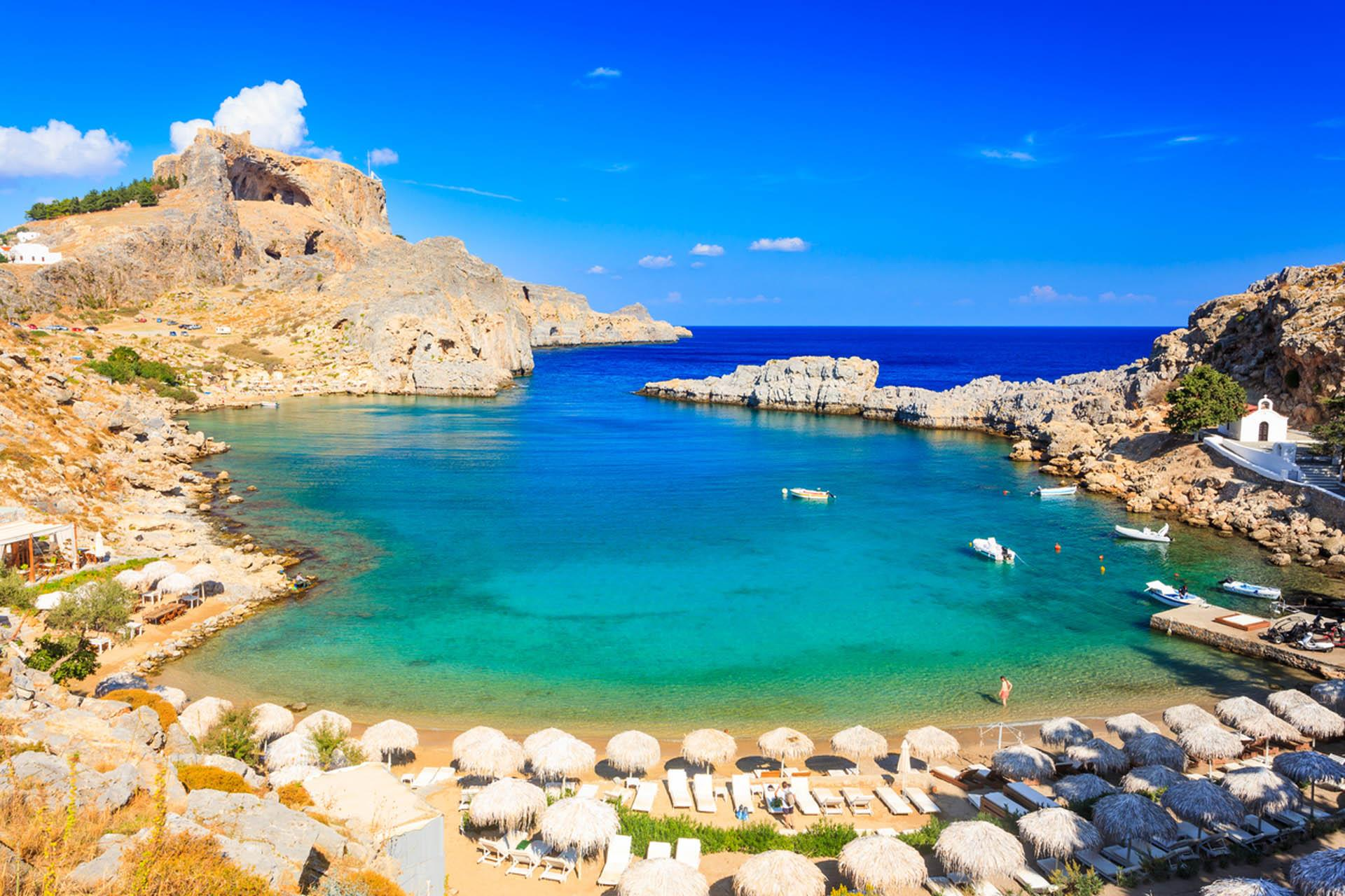 Lindos 5* Ultra ALL INCLUSIVE hotel with a la carte dining