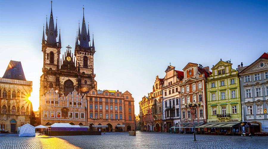Prague escape including tour