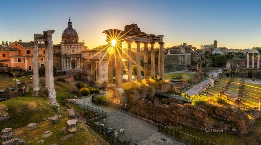 Rome getaway including tour